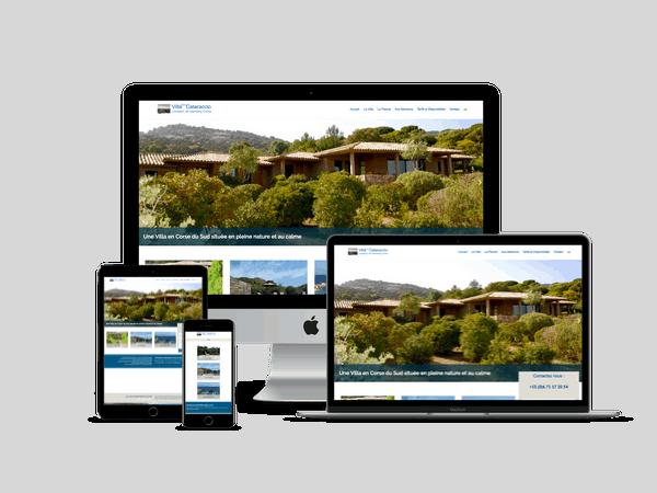 creation site internet de location de villa