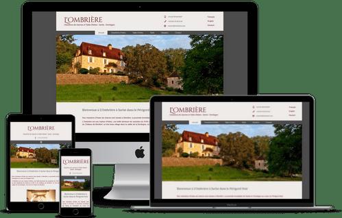 création de site internet de chambre d'hotes en Dodogne