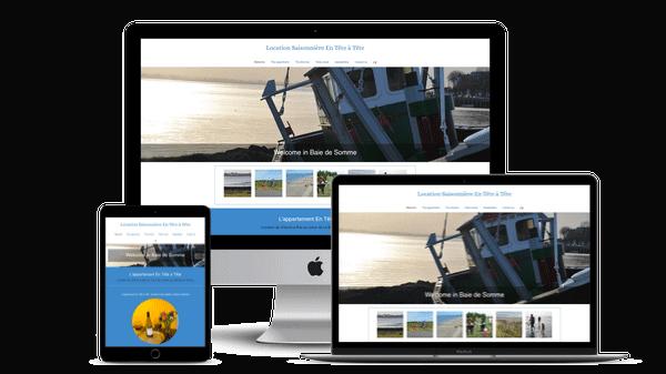creation site internet location saisonnière