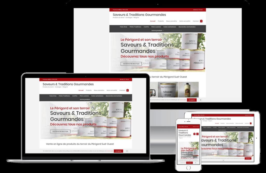 site marchand de vente en ligne près de Salignac