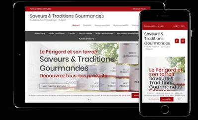 création site internet marchand pour tablette et smartphone