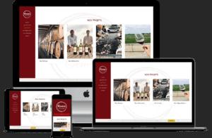 création site internet d'association oenologique