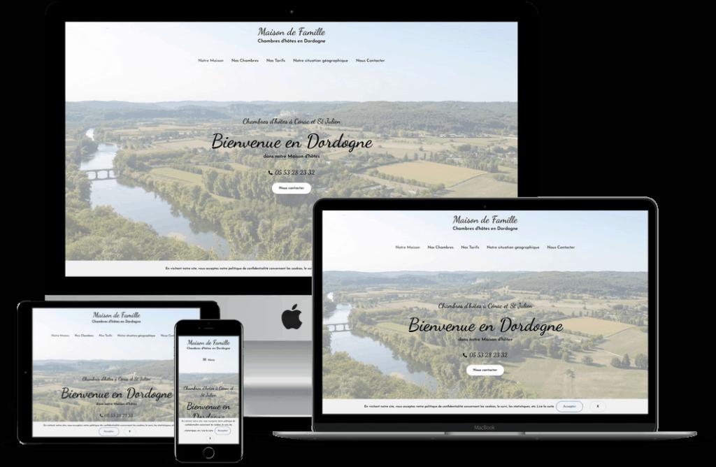 création site web en Dordogne