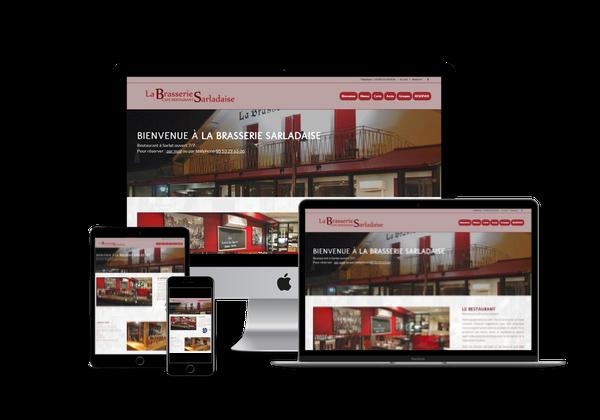 creation site internet pour restaurant bar a sarlat