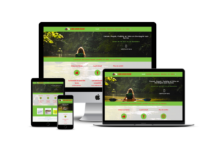 creation site web de base de canoe en Dordogne