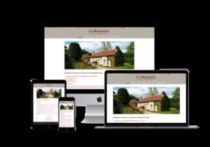 creation site web de gites en Périgord