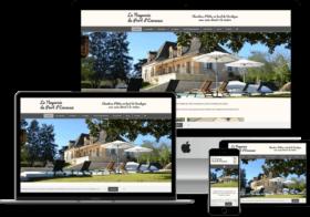 création site web de chambres d'hotes en Dordogne