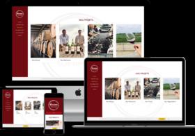 création site internet d'association oenologique à Bordeaux